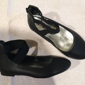 Nina Black Dress Shoes